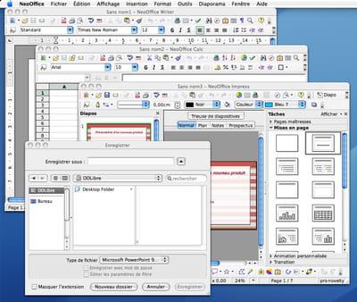 NeoOffice interface