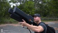 Un arma para bloquear drones