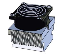 Disipador térmico activo