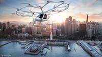El primer taxi-dron ya vuela en Dubái