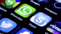 La estafa del WhatsApp azul