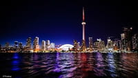 Una ciudad futurista en Canadá
