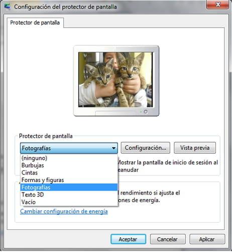 C mo usar im genes como protector de pantalla en windows 7 - Protector escritorio ...