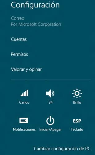 Windows 8 La Barra De Charms