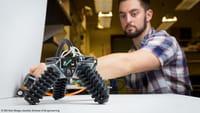 El robot trepador impreso en 3D