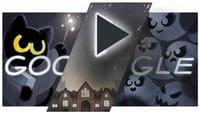 Minijuego de Google por Halloween