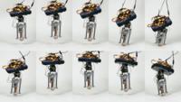 El robot saltarín de Disney
