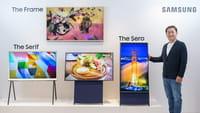 Cómo es la TV vertical de Samsung