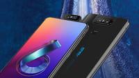 El nuevo 'smartphone' Asus con cámara rotatoria