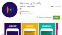 Stations, lo nuevo de Spotify