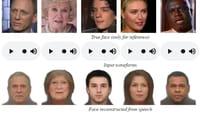 La IA que recrea rostros a partir de la voz