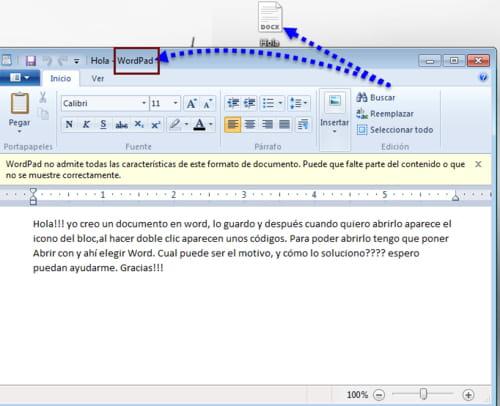 No puedo abrir un archivo de Word [Resuelto] - Word - CCM