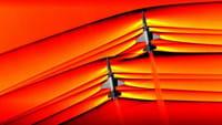 Así son las ondas de choque de los aviones supersónicos