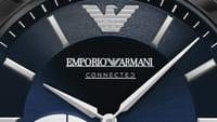Así es el reloj inteligente de Armani