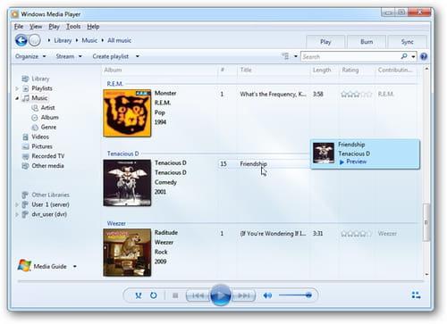 Windows media player 11 (windows) download.