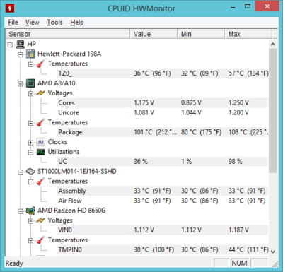 hwmonitor download ita