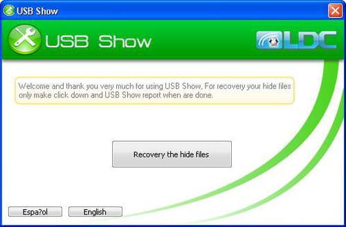 Se borraron los archivos de tu USB, recupéralos con USB Show Usb-show