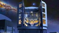 Megatelescopio en construcción en Chile