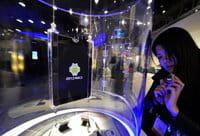 Una tableta de la firma Toshiba que funciona con el sistema operativo de Google Android