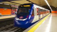 Información sobre la congestión en el metro en Google Maps