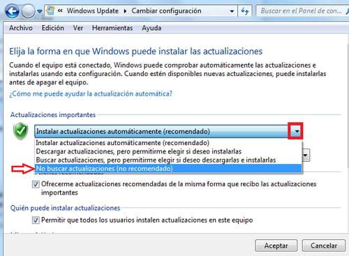 como quitar en windows 10 las actualizaciones automaticas