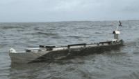 Un kayak solar surca el Atlántico