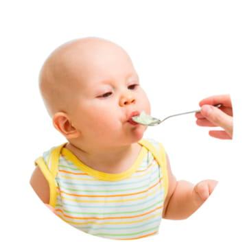 Alimentaci n del ni o de 4 meses a un a o - Cuantas comidas hace un bebe de 8 meses ...