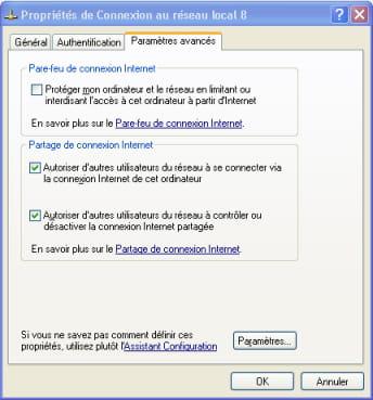 compartir la conexión a internet en XP