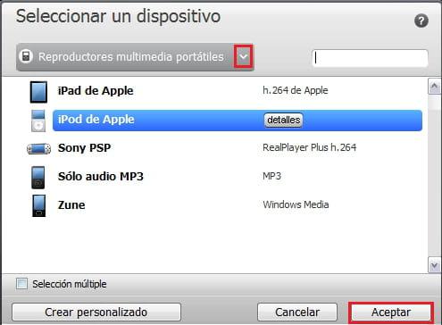 Convertir archivos de audio y video con RealPlayer Converter