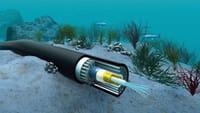 Nuevo cable submarino de envío de datos