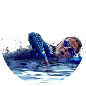 nadar afinarse mas que corro