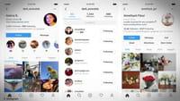 Novedades en los perfiles de Instagram