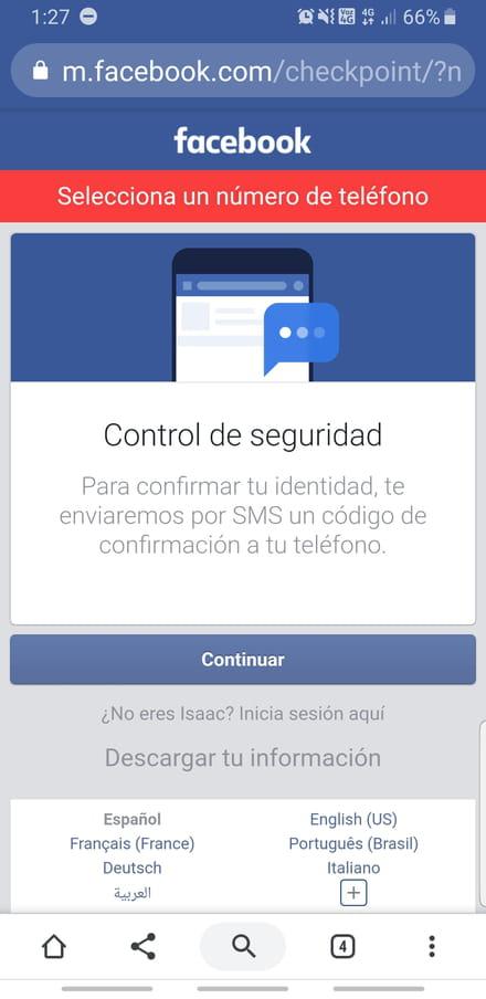 hotmail iniciar sesion facebook