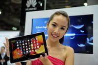 La tableta de Huawei