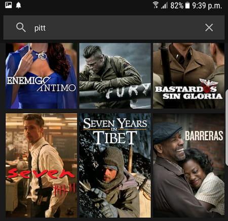 hacer una búsqueda en Netflix
