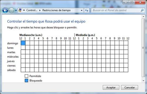 windows 7 limitar el tiempo de uso del pc en algunas cuentas. Black Bedroom Furniture Sets. Home Design Ideas