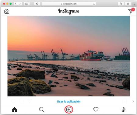 Subir fotos a Instagram desde Mac