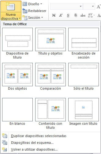 Powerpoint Insertar Una Nueva Diapositiva