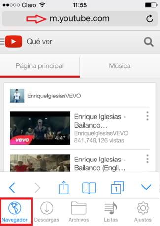 como descargar musica de youtube para iphone 4s