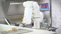 El robot que hace hamburguesas