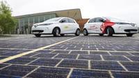 La primera carretera solar