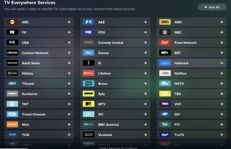 Roulette para canales de televisión