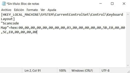 Desactivar la tecla Windows