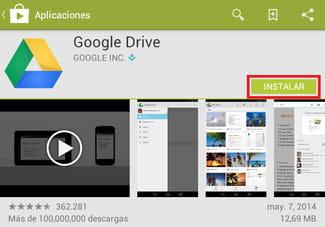 como descargar fotos de google en android