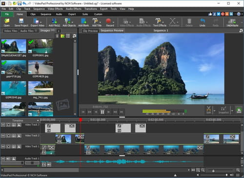 NCH VideoPad Video Editor Pro 8.55 Beta [Ingles] [UL.IO] Videopad
