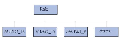 Estructura de un DVD