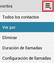 android clasificar tu registro de llamadas