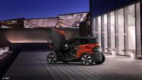 SEAT Minimó, un híbrido entre coche y moto totalmente eléctrico