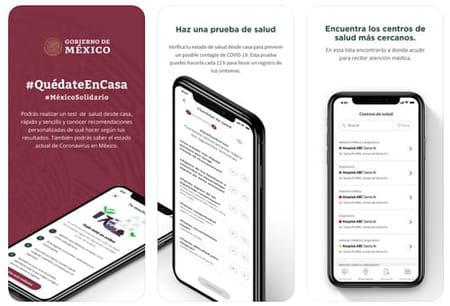 covid-19MX app covid mexico