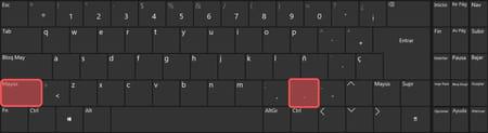 Escribir dos puntos en Windows
